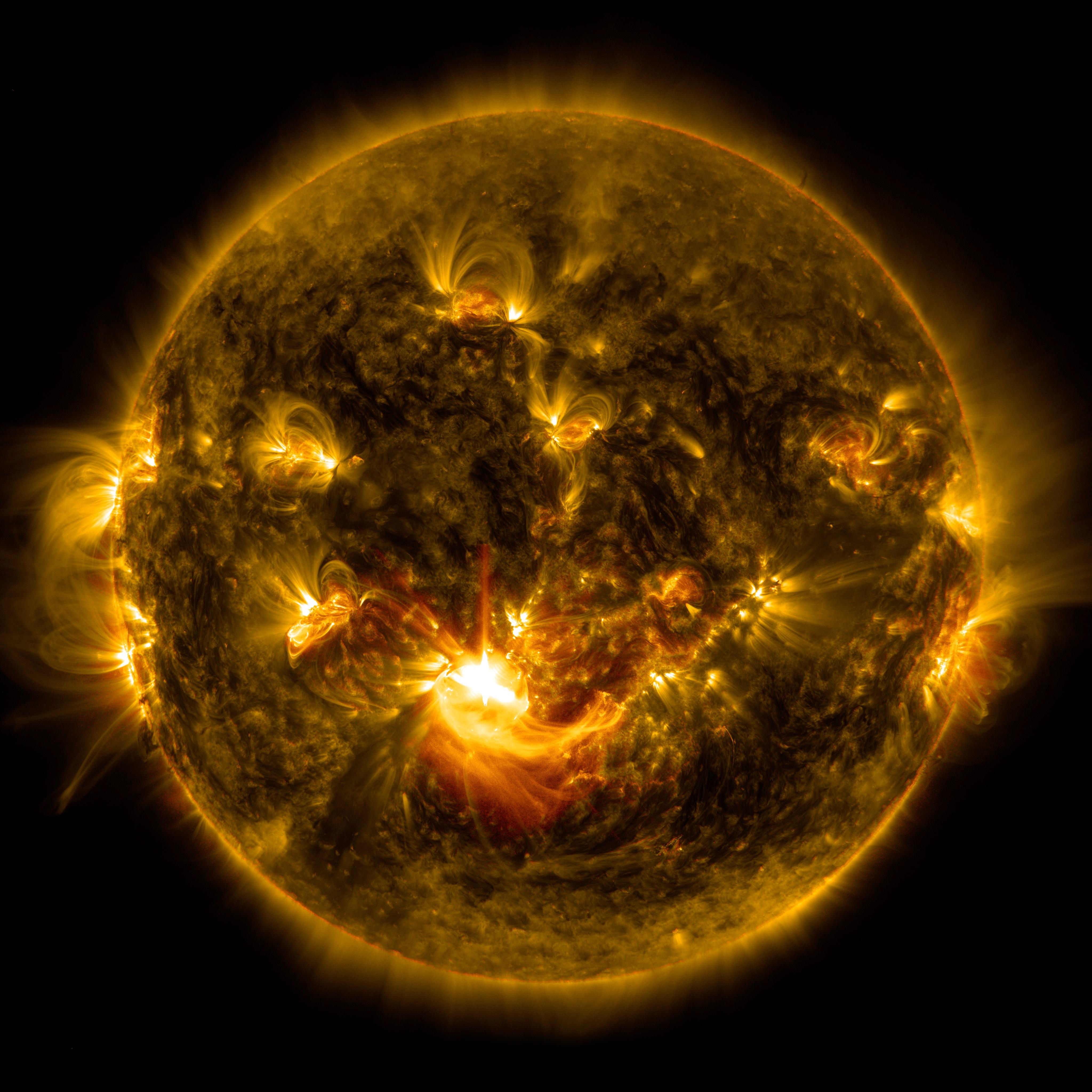 nasa sun images - HD4096×4096